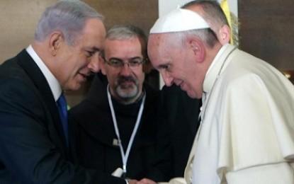 Paus dan PM Israel Berdebat soal Bahasa yang Digunakan Yesus