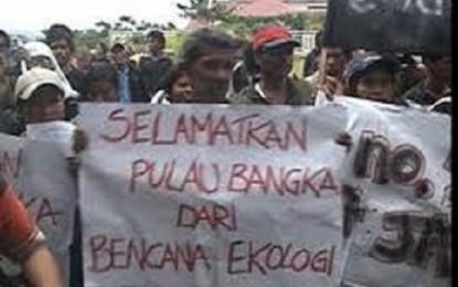 Utusan Amerika Prihatin Tambang di Pulau Bangka
