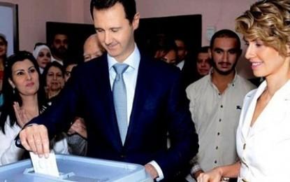 Suara kemenangan bagi Assad