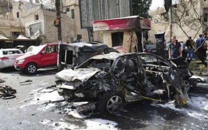 Bom Mobil Kembali Meledak di Suriah, 34 Tewas
