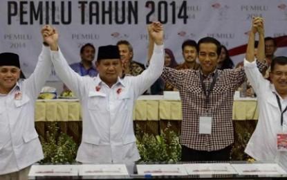 Satu Siang tentang Megawati, Prabowo, dan Jokowi