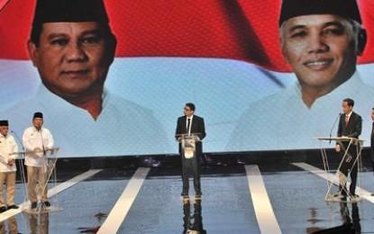 Prabowo: Kita ingin rakyat sejahtera, Mandiri di atas kaki sendiri