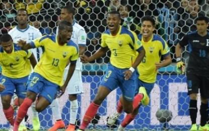 Ekuador Kalahkan Honduras Berkat Dua Gol Valencia