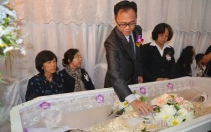 Isteri Karo Pemerintahan dan Humas di Makamkan
