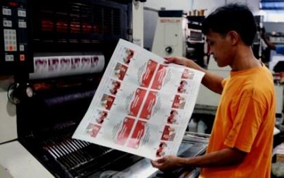 KPU Bitung Targetkan Pelipatan Surat Suara Segera Rampung