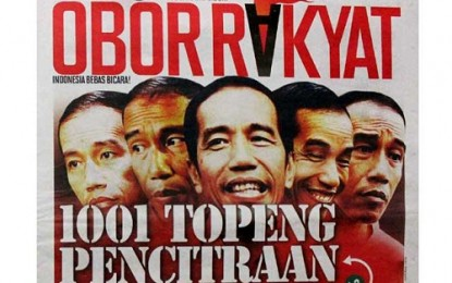 Tim Jokowi-JK Sikapi Tabloid Obor Rakyat secara Hukum