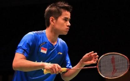 Dikalahkan Lin Dan, Indonesia Kalah di Australia
