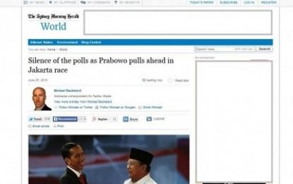 Media Australia Nilai Survey di Indonesia Pro Jokowi