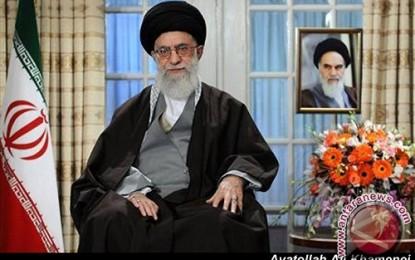 Pemimpin tertinggi Iran tuduh Israel genosida