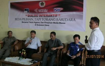 RRI Gelar Dialog Bersama Pimpinan Media dan Tokoh Agama