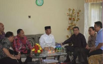 Gubernur Sulut Bersilahturahmi Ke Pejabat dan Tokoh Agama Islam