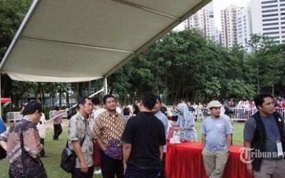 Masih Ada WNI Tidak Mencoblos di Victoria Park, Hongkong