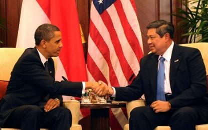 Presiden Obama Sampaikan Selamat Suksesnya Pilpres 2014