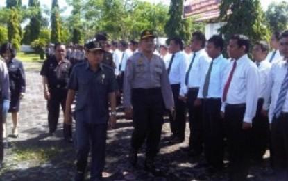 Polres Minsel Turunkan 372 Personil di Pilpres