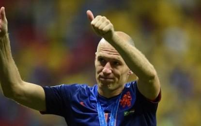 Robben Cukup Terhibur Belanda Dapat Peringkat Ketiga