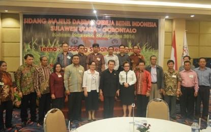 Gubernur Sulut Buka Pelaksanaan SMD GBI Sulut Gorontalo