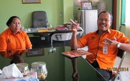 Semester I 2014, Layanan PT POS Manado Tumbuh 20 %