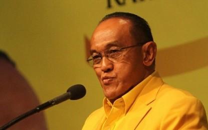 Ical Kumpul 10 DPD I Partai Golkar di Manado