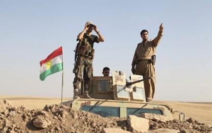 Pesawat-pesawat tempur AS bombardir ISIS di Irak utara