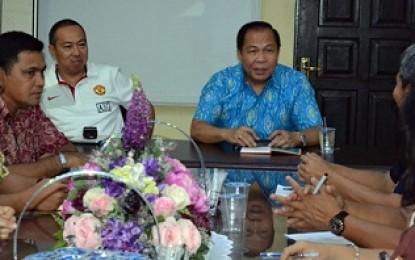 Lomban Pimpin Pertemuan Kelanjutan Pembangunan CDC