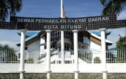 Legislator Bitung Jamu Dekab Gorontalo