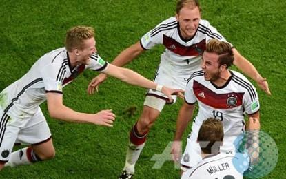 Kualifikasi Euro, Jerman 2-1 Skotlandia