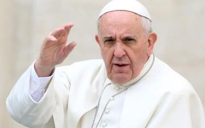 Paus Ingatkan Gempuran ISIS Sebagai Tanda Perang Dunia III