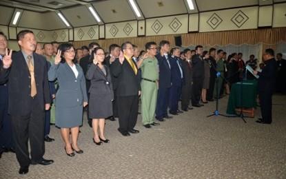 212 Pejabat Pemprov Sulut Dilantik Wagub Kansil