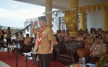 Gubernur Buka Perkemahan Pramuka Penegak Pandega