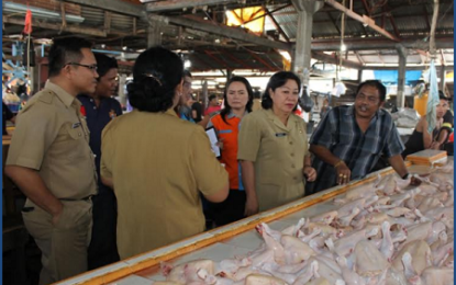 Pemkot Bitung Gelar Operasi Pasar Jelang Hari Raya Natal