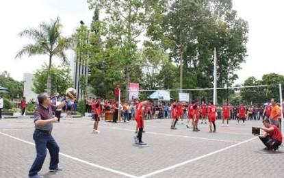 Lomba Futsal Antar SKPD di HUT Minahasa Meriah