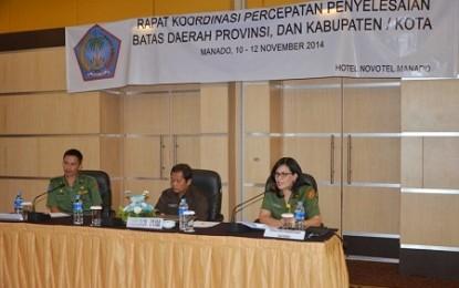 Karo Watania: Batas Wilayah Administrasi Harus Selesai