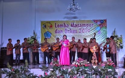 New Creative Manado Raih Juara I Lomba Orkes