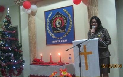 Karo Lynda Watania Ajak Pers Kawal Sulut Menuju Gerbang Pasifik