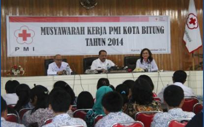 PMI Kota Bitung Gelar Musyawarah