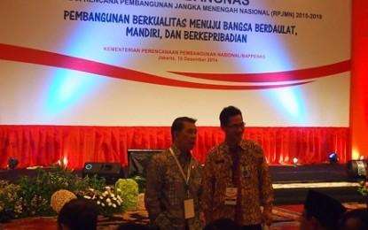Gubernur SH Sarundajang Hadiri Musrenbang Nasional 2014