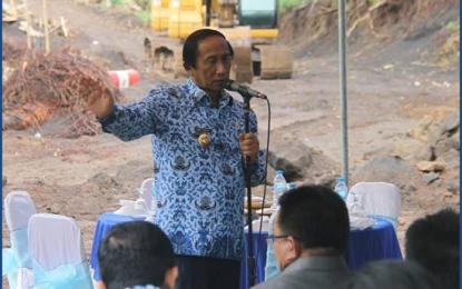 Wali Kota Bitung Imbau Warga Waspada di Musim Hujan