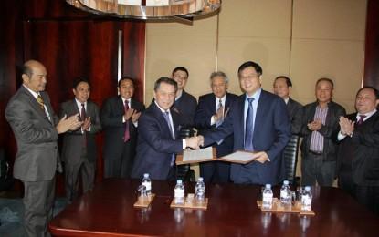 Gubernur Sarundajang Ajak PM China Bangun Jalur Sutra Maritim