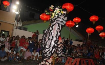 Spektakuler Malam Tahun Baru Imlek di Kampung Cina Manado