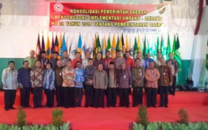 SHS Ikut Rakernas APPSI yang DIbuka Wapres Jusuf Kalla