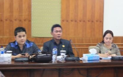 Tim Pansus Pajak Daerah DPRD Sulut Nilai Revisi Perda Ranmor Sangat Diperlukan