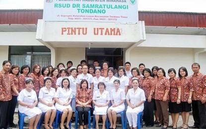 Genap 2 Tahun JWS-Ivansa, Kantor dan Poliklinik RSUD Samratulangi Diresmikan