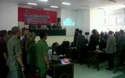Sidang Paripurna DPRD Kabupaten Boltim Bahas 5 Ranperda