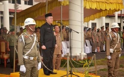 Sat Pol PP Memiliki Jiwa Profesional dalam Menjalankan Tanggungjawab