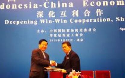 Sarundajang Teken MoA dengan BUMN Tiongkok