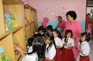 Taman Baca Anak di Polres Minsel
