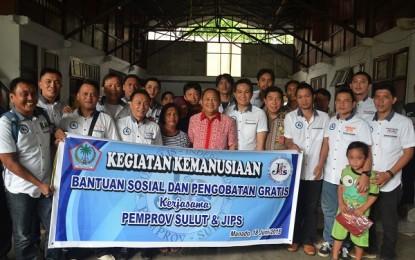 Pemprov Sulut dan  JIPS Gelar Aksi Kemanusiaan