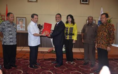 DPD RI Serap Aspirasi Uji RUU Pertanahan di Sulut