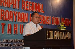 Wakil Gubernur Sulut Dr. Djouhari Kansil.