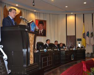 LHP BPK RI Disampaikan di Sidang Paripurna Istimewa DPRD Sulut